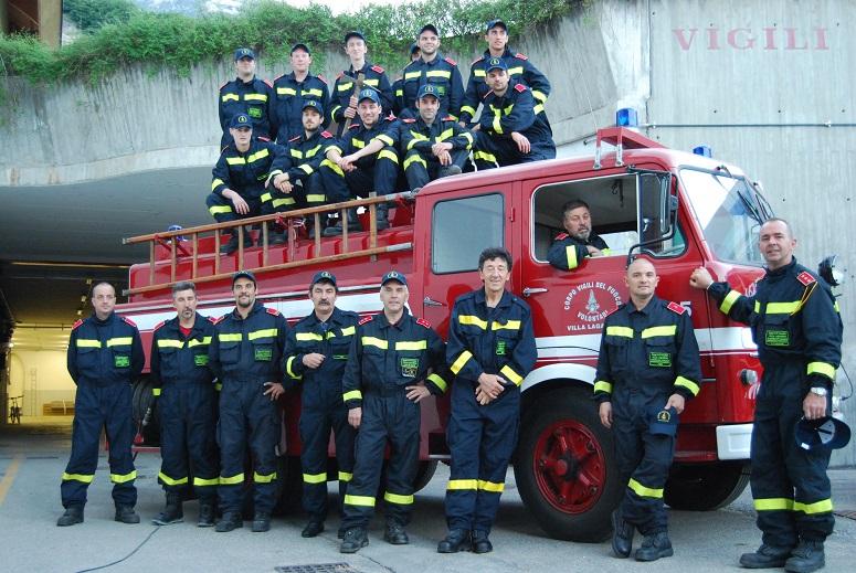 Vigili del fuoco volontari di Villa Lagarina