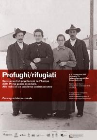 Profughi/Rifugiati. Convegno Internazionale. Immagine 1