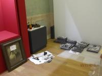 Gli spostati. Palazzo Alberti Poja Rovereto. Allestimento mostra. Immagine 3