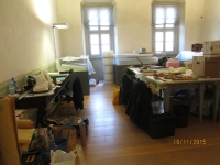 Gli spostati. Palazzo Alberti Poja Rovereto. Allestimento mostra. Immagine 4