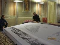 Gli spostati. Palazzo Alberti Poja Rovereto. Allestimento mostra. Immagine 6