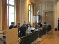 Da sinistra Elisa Trenti, Mauruzio Tomazzoni, Teresa Untersteiner, Alberto Miorandi, Bruno Dorigatti e Giovanni Anichini