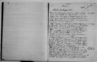 Diario desilio. Manoscritto originale
