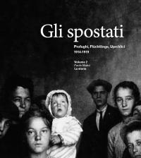 Profughi, Flüchtlinge, Uprchlíci. 1914-1919, copertina volume